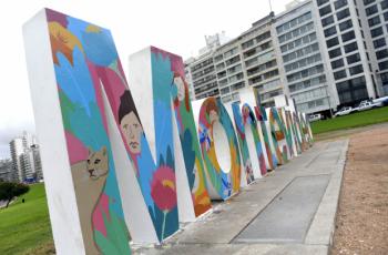 Tu diseño en las letras de Montevideo
