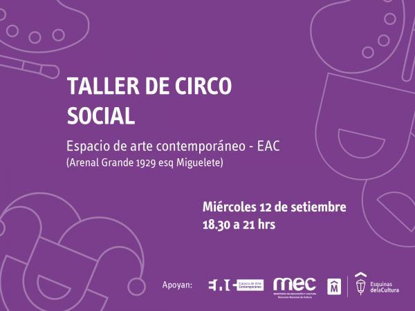 Taller de Circo Social