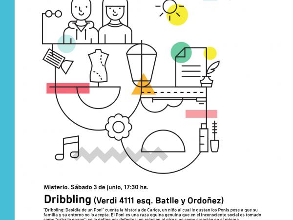 Afiche de Dribbling en Misterio