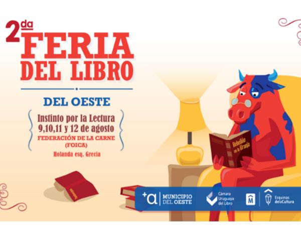 "Segunda Feria del Libro del Oeste: ""Instinto por la lectura"""