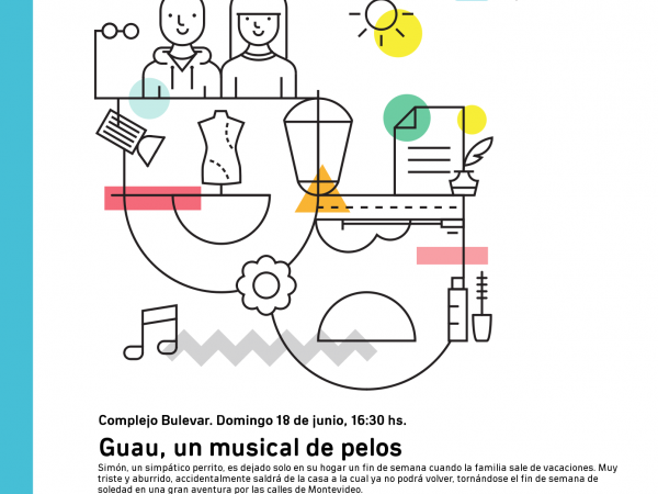 Afiche de Guau en Complejo Bulevar