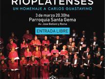 Coro Nacional del SODRE presenta: RITMOS RIOPLATENSES