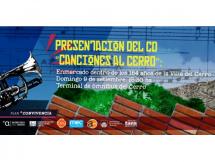 """Presentación CD """"Canciones al Cerro"""""""
